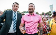 Conor McGregor is at Longitude celebrating his 30th birthday (and it looks like fun)