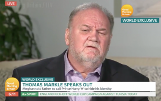 Thomas Markle has FINALLY admitted to a pretty massive lie