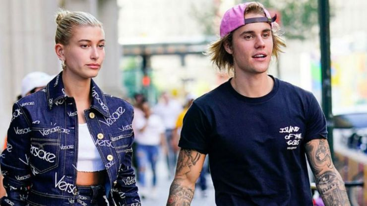 Hailey Bieber responds to rumours her and Justin are expecting