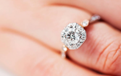 Bride-to-be shows off her engagement ring on rollercoaster and Twitter is in love