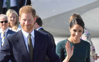 Meghan changes for a THIRD time today... and this time it's a stunning LBD