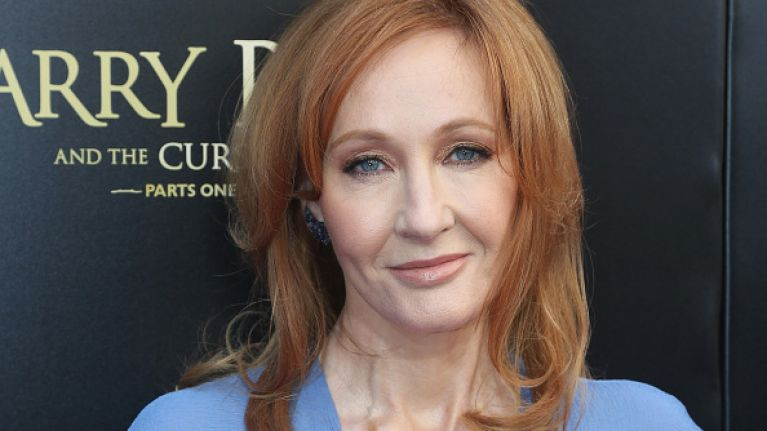 J.K Rowling is writing a new book, and we're not worthy