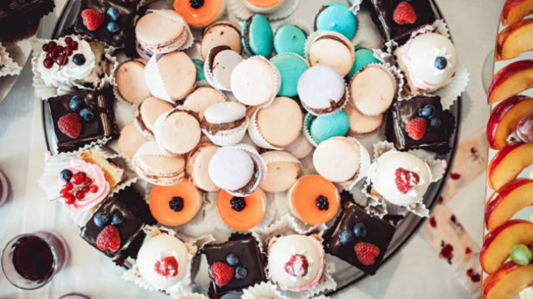 We are absolutely DROOLING over this new dessert in Ladurée's Dublin spot
