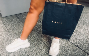 Adore! You just KNOW this €40 Zara skirt is going to be a blogger fave