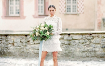 6 gorgeous short wedding dresses for a non-traditional look