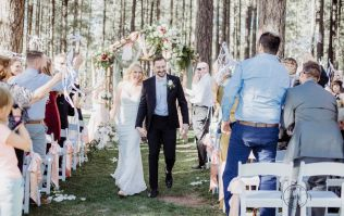 This bride played the most AMAZING prank on her new husband
