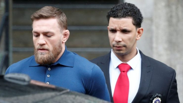 Conor McGregor has escaped jail after THAT New York incident