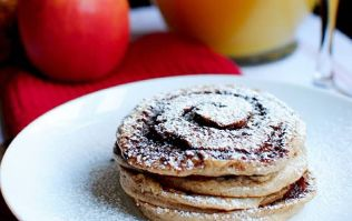 These churro pancakes are just what you need this Easter weekend