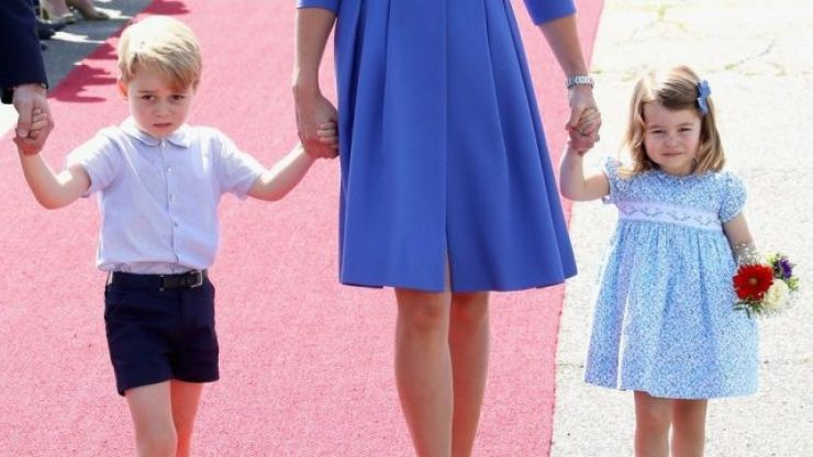 This is when George, Charlotte and Louis will have to start bowing to The Queen