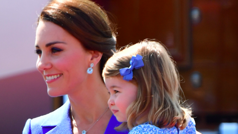 Here's why Duchess Kate and Princess Charlotte always wear coordinating outfits