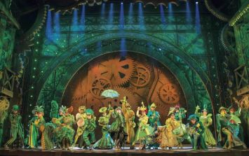 I spent a day on the set of WICKED the musical and now I want to quit my job