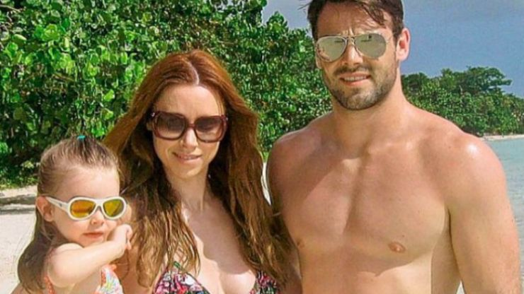 Ben Foden's latest Insta post of daughter Aoife is coming in for a lot of criticism