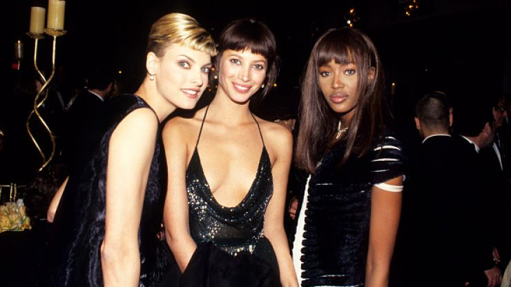Throwback! 90s supermodels versus today's catwalk