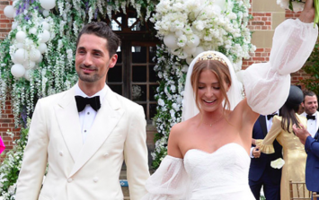 Millie Mackintosh actually wore a SUIT for her official wedding ceremony