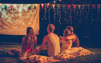This outdoor movie night takes place next weekend and oh yes, it's FREE