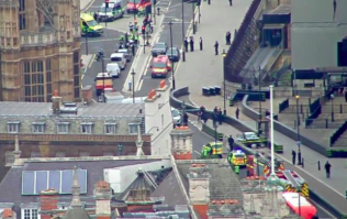 Multiple pedestrians injured as car crashes into Houses of Parliament in London