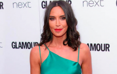 Christine Lampard looks stunning weeks before due date in this Karen Millen dress