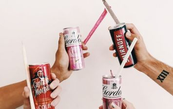 You can now enjoy your G&T with a flavoured EDIBLE straw
