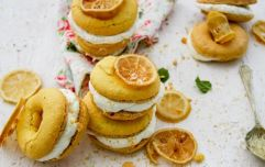 Anyone for a GIN doughnut macaroon hybrid? This recipe is UNREAL