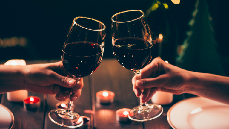 Study suggests that drinking a glass of red has the same effect as going to the gym