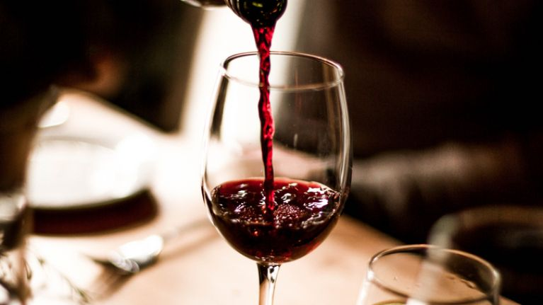 Drinking a glass of red wine has the same effect as going to the gym
