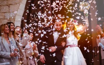 Any excuse to stay single! Turns out having a wedding is really bad for the environment