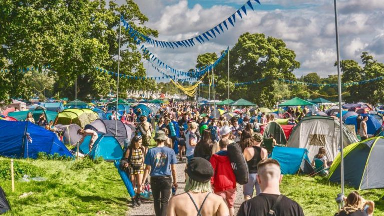 Forget carrying camping gear to EP - this year you can grab it all right there!