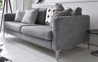 This secret (and SERIOUSLY simple) trick will totally transform your IKEA sofa
