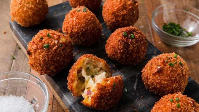 You need to add these fried mash potato balls to your mid-week meals
