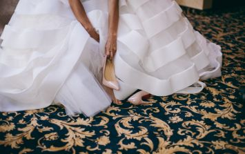 A bride broke both of her feet at her wedding dancing to the BEST song