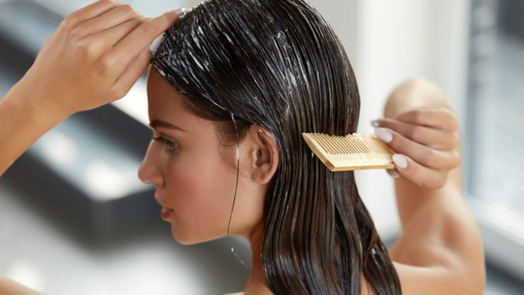It turns out letting your hair air dry may be really bad for it
