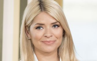 Holly Willoughby just wore the most beautiful red dress, and we're a little shook by it