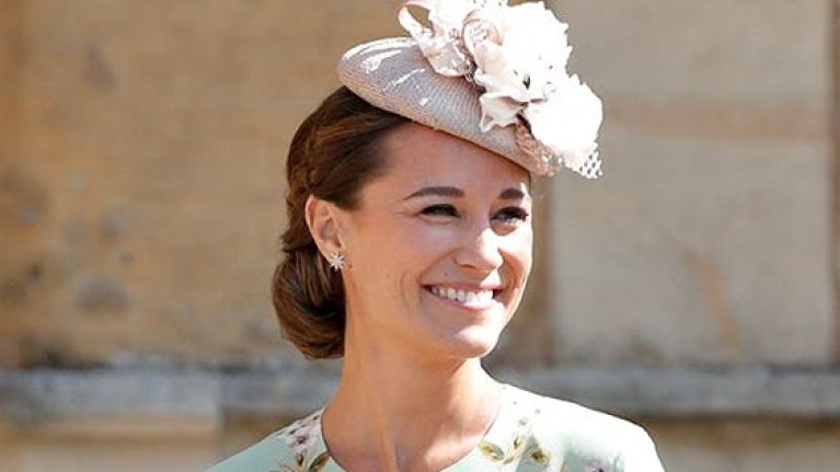 Pippa Middleton just wore the most beautiful floral midi dress, but YIKES, it's expensive