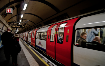 Family-of-three survive falling on tube tracks after ducking under moving train