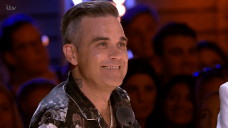Robbie Williams facing huge backlash for this comment on The