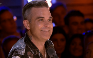 Robbie Williams facing huge backlash for this comment on The X Factor last night