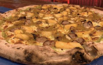 Curry chip pizza is now a thing and we couldn't be happier about it