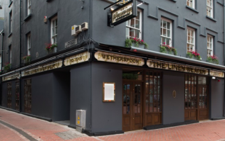 Bad news for dog owners... Wetherspoons is banning dogs from all pubs