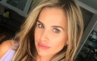 'Overdue means a slightly grumpy wife' - Vogue Williams shares a pregnancy update