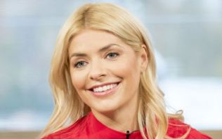 Holly Willoughby just revealed her Christmas Day dress, and it's only €60 from Marks and Spencer
