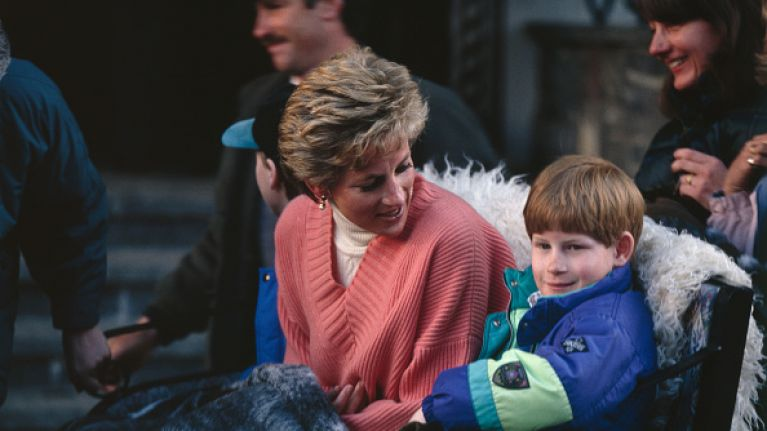 Diana once gave Prince Harry a rude Christmas present - and he used it to prank the queen