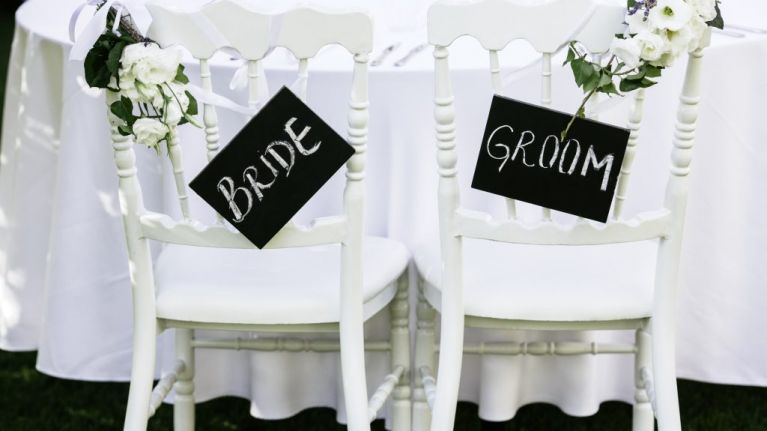 The reason why we are giving all of our wedding guests a plus one