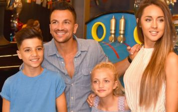 Peter Andre on how he's protecting Junior and Princess from Katie Price headlines