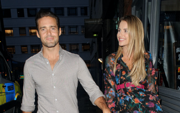Turns out Spencer Matthews bought Vogue Williams' push present years ago