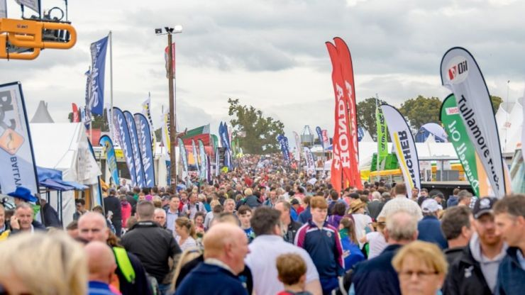 The National Ploughing Championship has been CANCELLED today