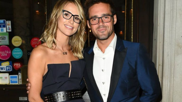 Spencer Matthews said the CUTEST thing about Vogue Williams last night