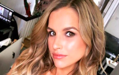 We're drooling over Vogue Williams' Zara dress in her first post as a new mom