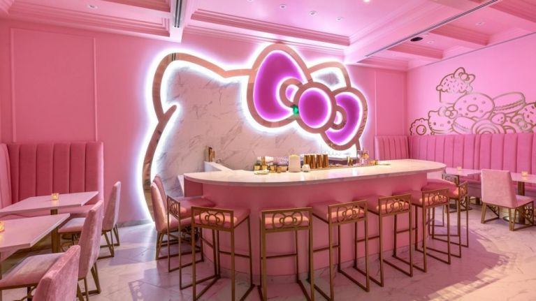 A Hello Kitty bar and café is opening this week and OMG, the glamour