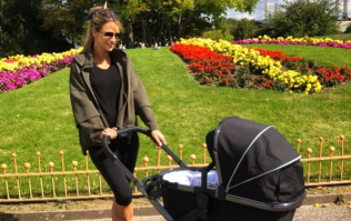Vogue Williams on going back to work after having her baby last week