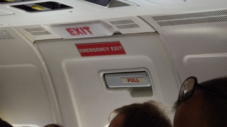 First time plane passenger thinks cabin door is a toilet and causes 'pandemonium'